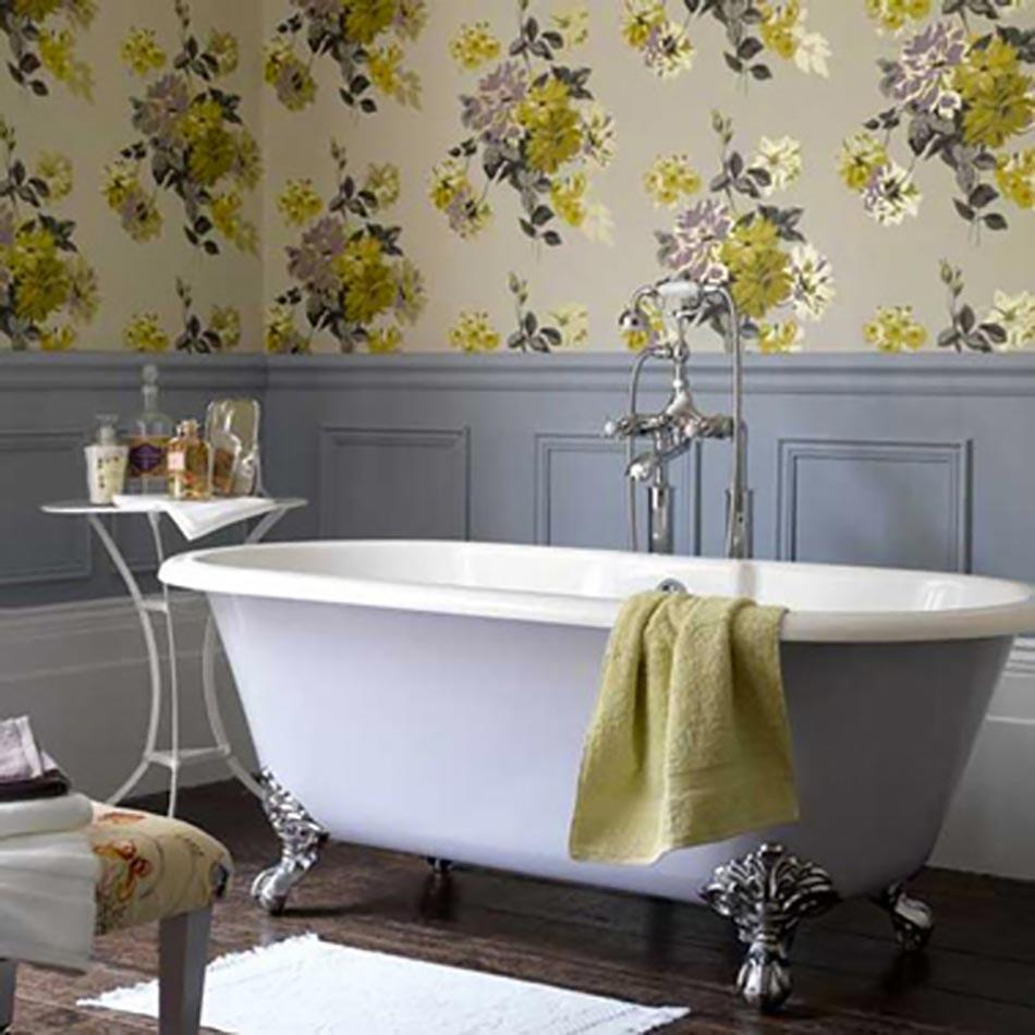 Papier Salle De Bain papiers peints créatifs pour une salle de bain design