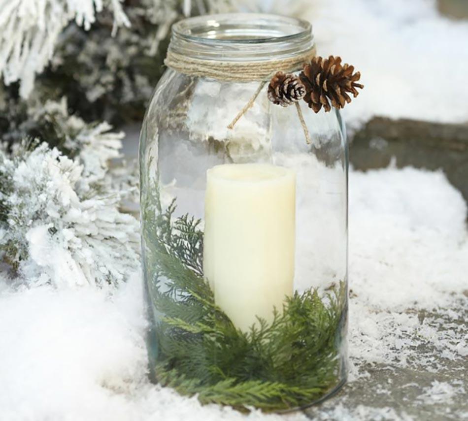 Léternelle bougie décoration de Noël intemporelle