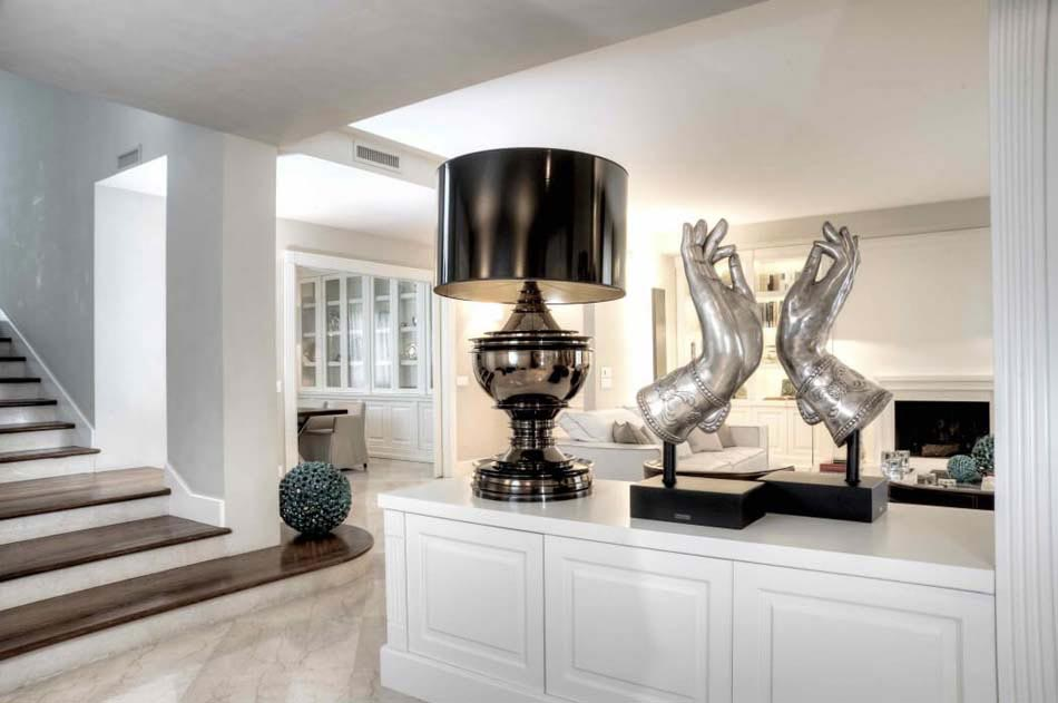 Magnifique design int rieur l italienne pour cette belle r sidence citadine design feria - Deco italienne maison ...