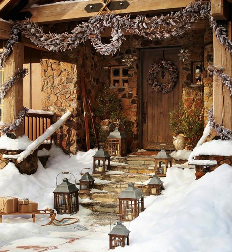 D coration de no l pour de beaux espaces ext rieurs for Decoration noel interieur maison