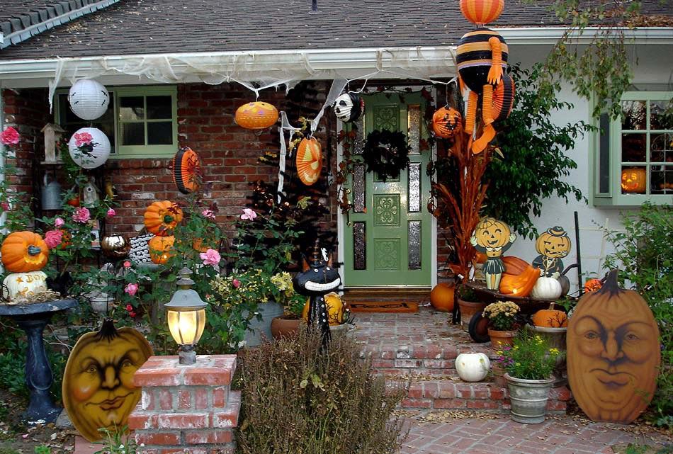Exceptionnel Décoration Halloween : 16 inspirations en images pour décorer l  XF76