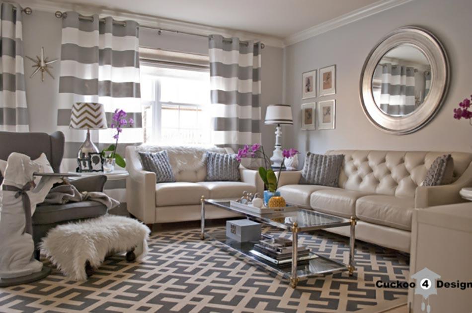 D co maison l aide des rayures ind modables design feria for Deco maison classique chic