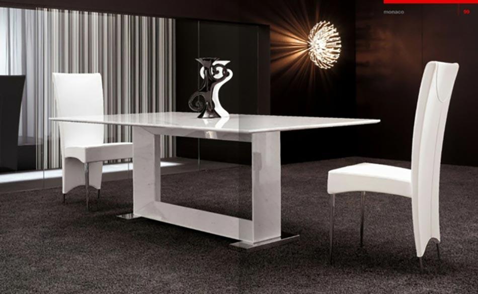 Salle Manger Moderne Aux Chaises Design Uniques Feria