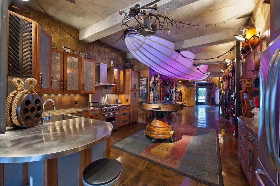conception de cuisine maison pour la récupération