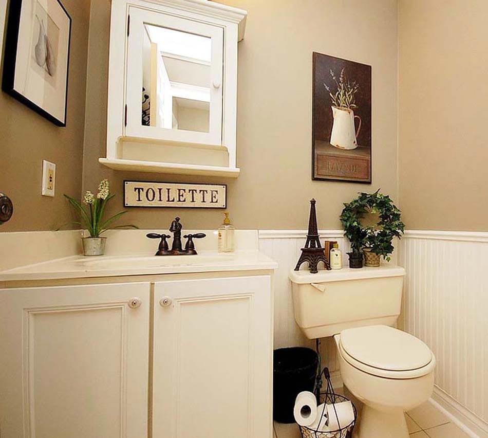 Id es de d coration inspirantes pour rendre nos toilettes - Accessoires toilettes design ...