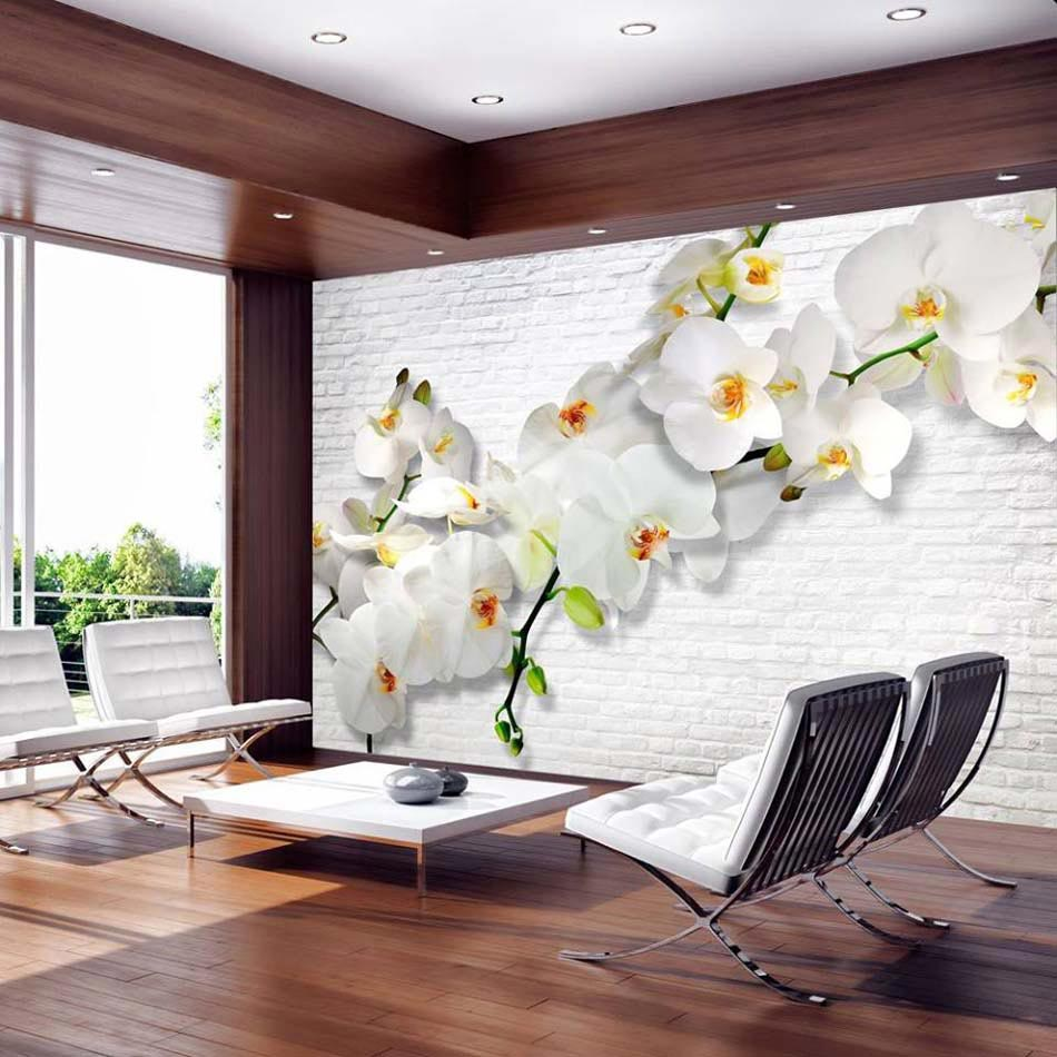 Decoration mur salon papier peint - Tapisserie sejour salon ...