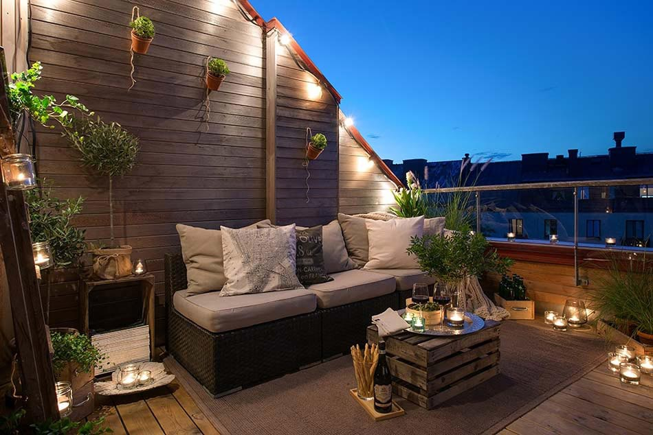Am nagement terrasse coquet pour une ambiance conviviale et agr able design - Photo de terrasse moderne ...
