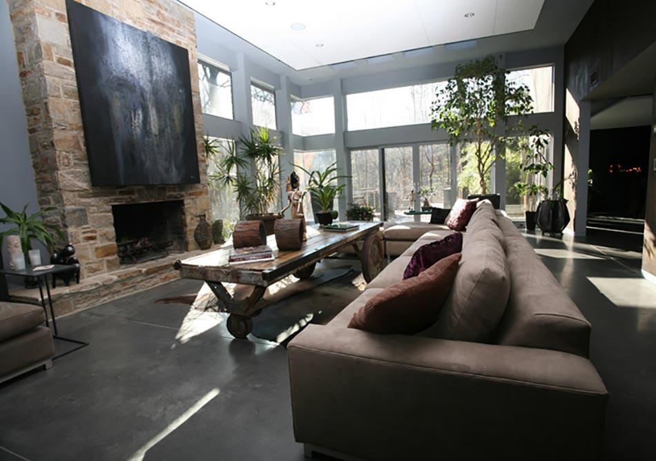 Table basse en bois au design rustique et original pour un séjour ...