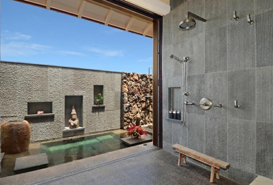Agreable Salle De Douche Minimaliste à La Deco Zen