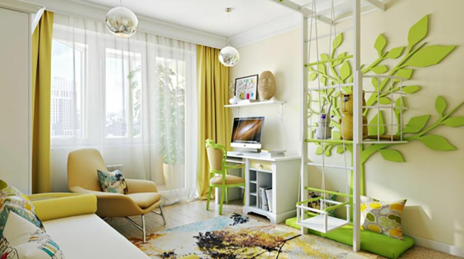 Am nagement chambre d enfant dans un appartement design feria - Idee appartement design ...