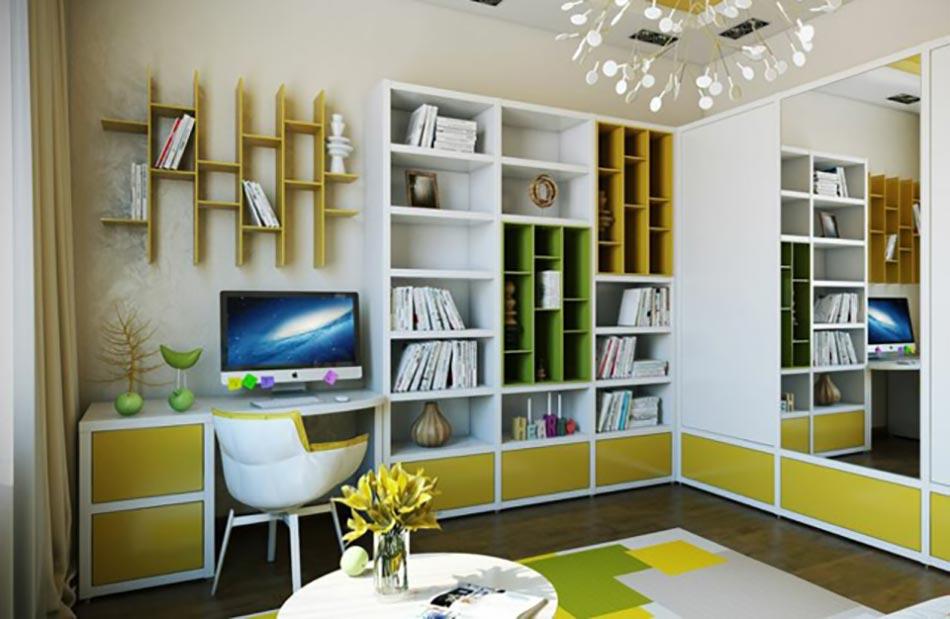 Design Moderne Et Décoration Pétillante Pour Cette Chambre Du0027ado