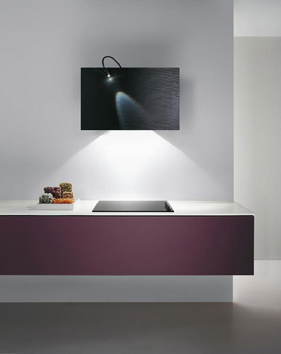stunning tableau duart ou hotte de cuisine design with hotte luminaire. Black Bedroom Furniture Sets. Home Design Ideas
