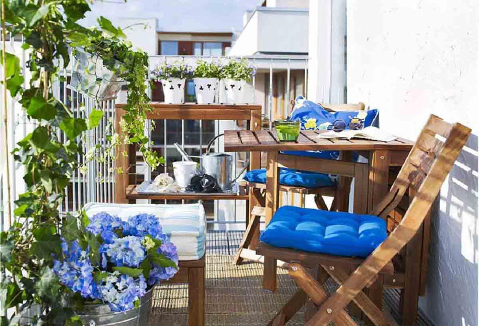 Decoration balcon terrasse appartement - Idee deco terras appartement ...