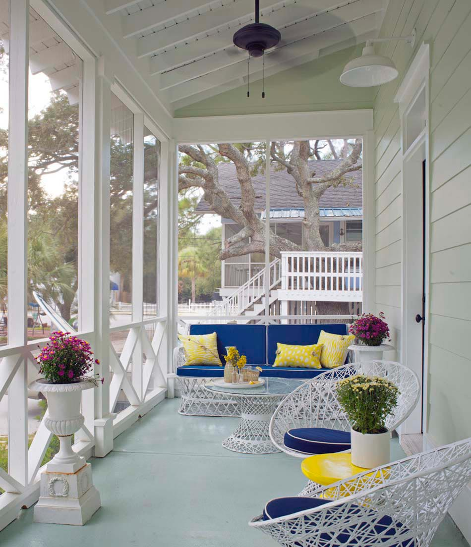Am nagement terrasse de styles et inspirations diff rents for Beautiful veranda designs
