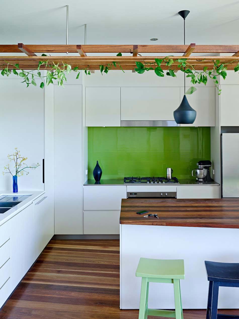 Aménager à la maison une cuisine moderne au design sobre et ...