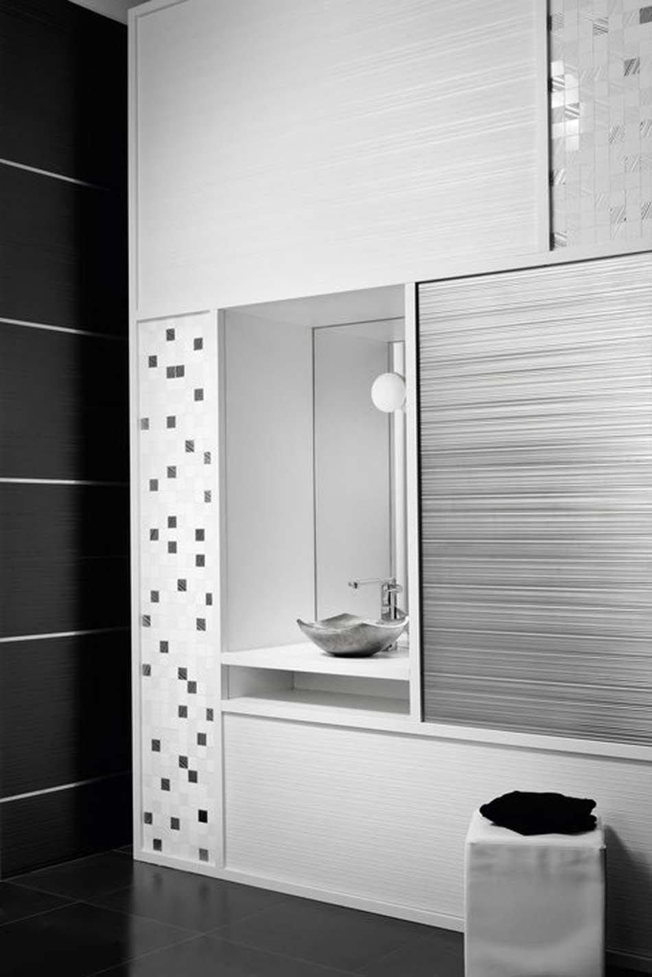 Salle de bain contemporaine à l'allure élégante et zen par aparici ...
