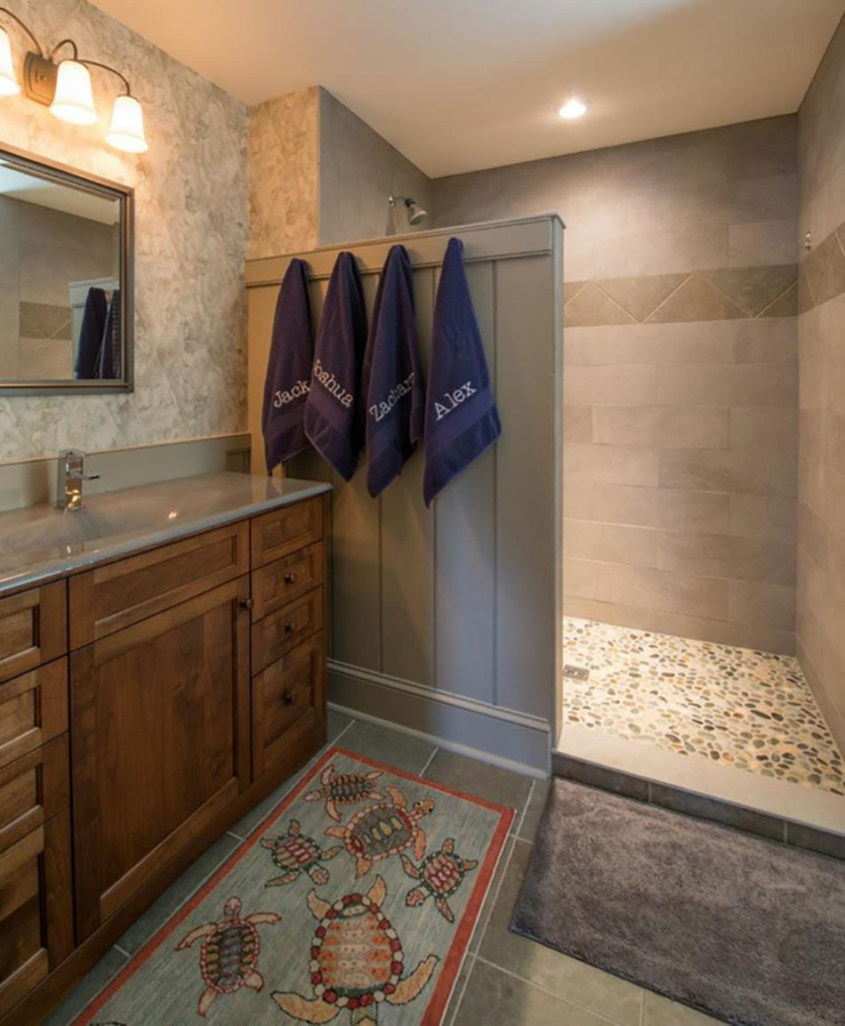 Walk in showers without doors memes - Ameublement De Salle De Bain Rideaux Ou Parois Originaux