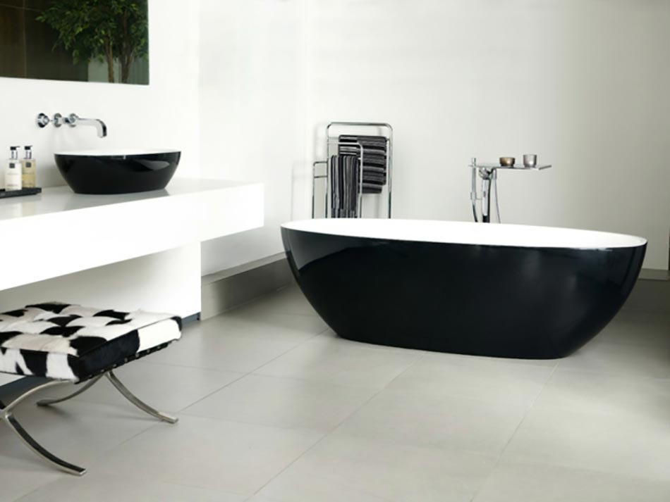 Am nagement salle de bain version luxe design feria for Amenagement salle de bain design