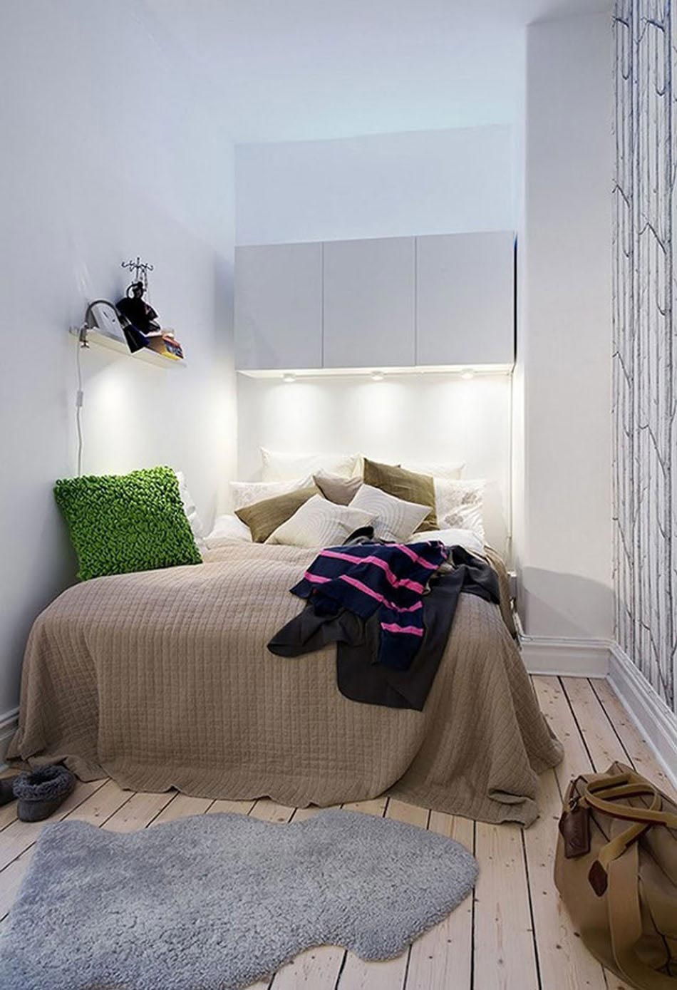 id es pour l am nagement petite chambre la fois. Black Bedroom Furniture Sets. Home Design Ideas