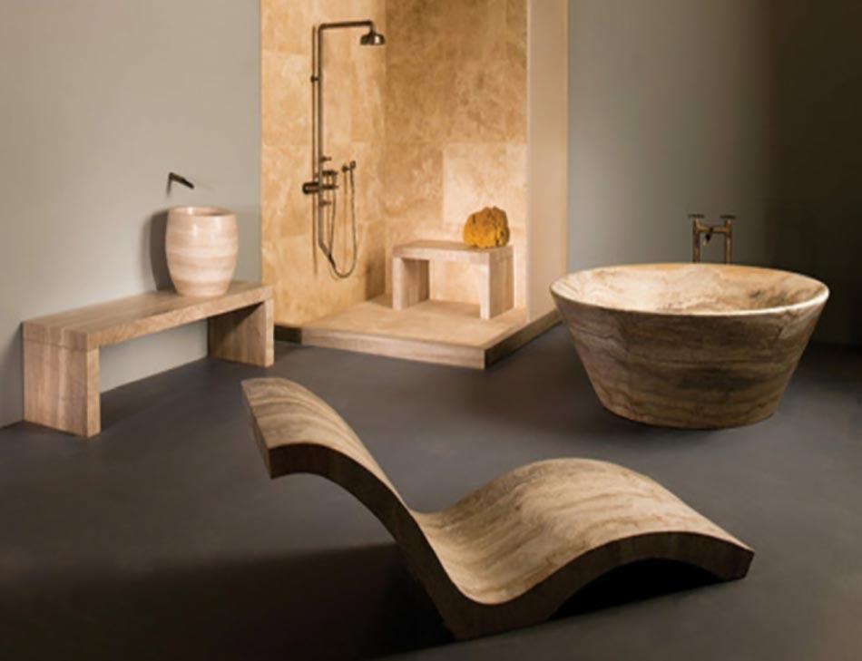 Une d co zen pour une salle de bains minimaliste design for Minimalisme rangement