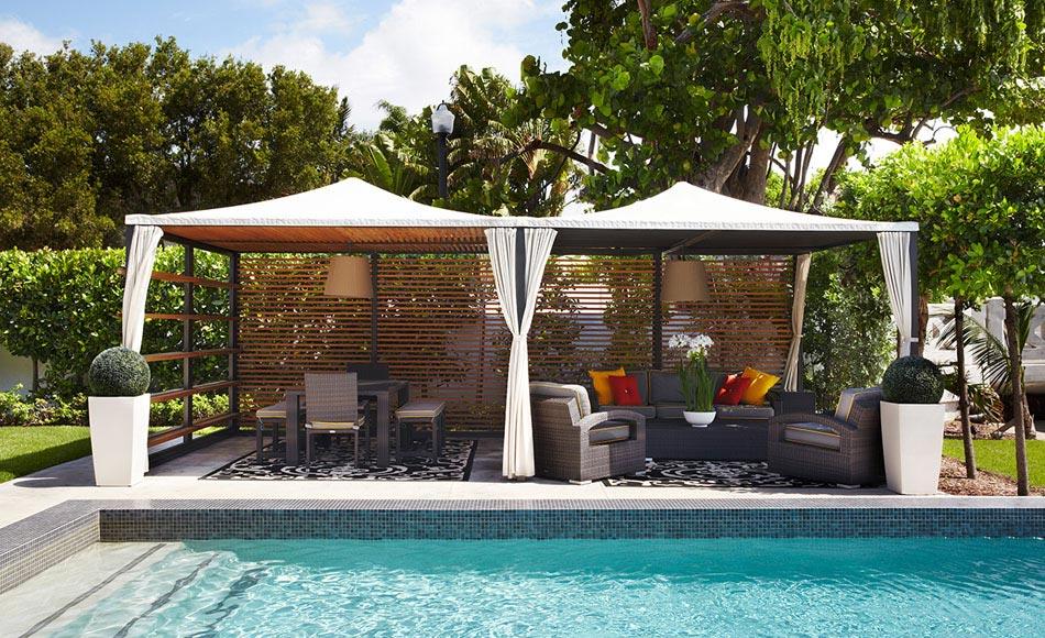Un am nagement terrasse afin de souligner l atout for Amenagement terrasse design