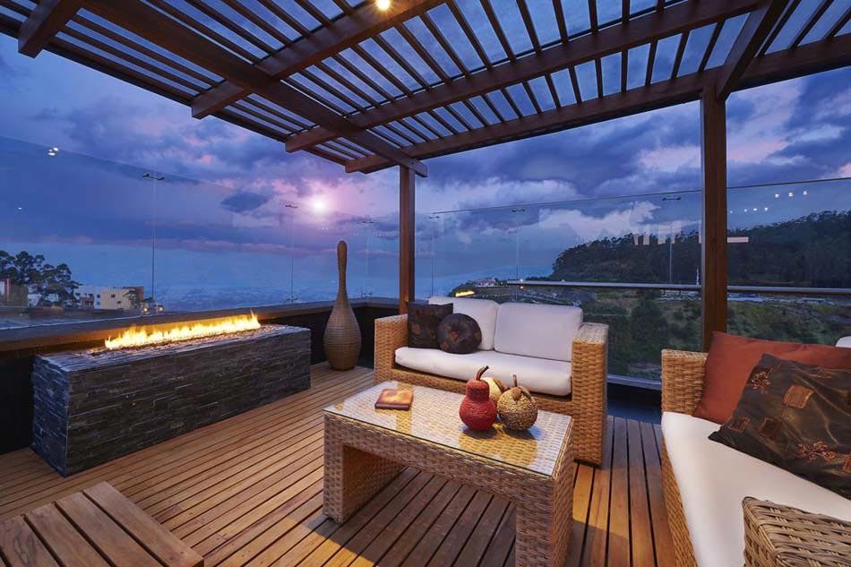 Am nagement terrasse coquet pour une ambiance conviviale Amenagement terrasse exterieure appartement