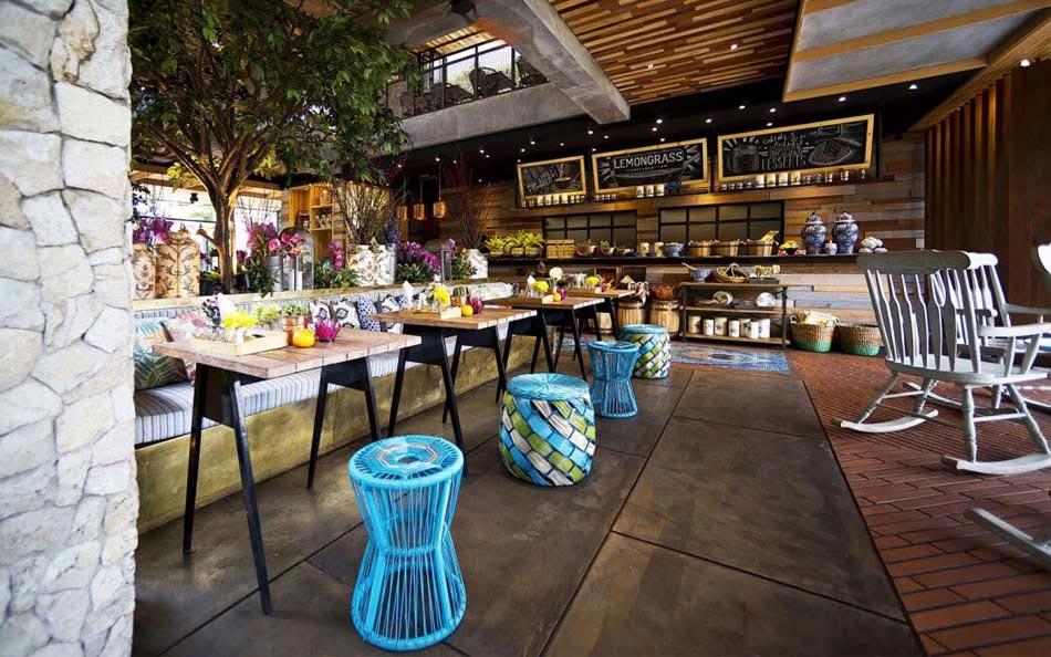 Restaurant design paradisiaque au c ur de l indon sie - Decoration restaurant bar moderne australie ...
