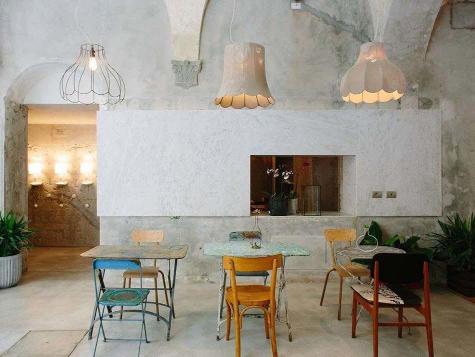 ... Restaurant Boutique La Ménagère Florence Italie. Une Ambiance à La Déco  Industrielle Au Design Chic « Dépouillé » De Cet établissement Original