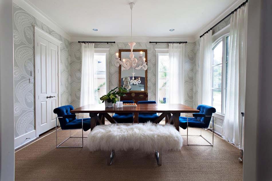 un design et ameublement originaux pour cette salle manger aux allures dun salon de dtente - Un Salon De Luxe