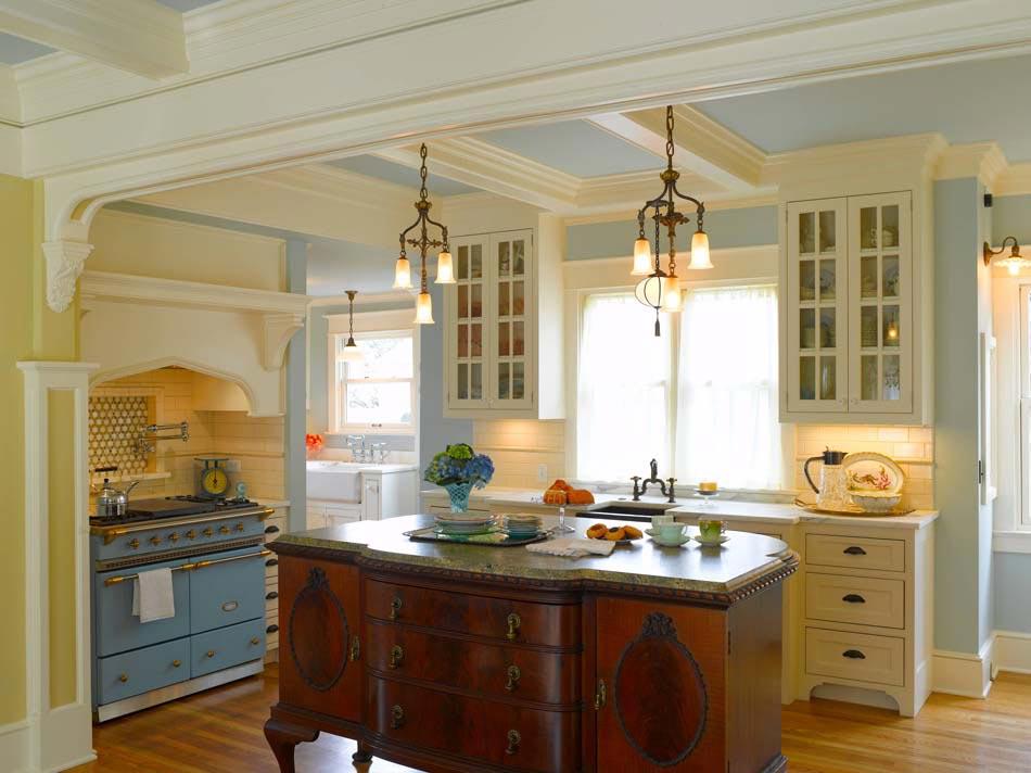 cuisine vintage qui nous fait voyager dans une autre. Black Bedroom Furniture Sets. Home Design Ideas