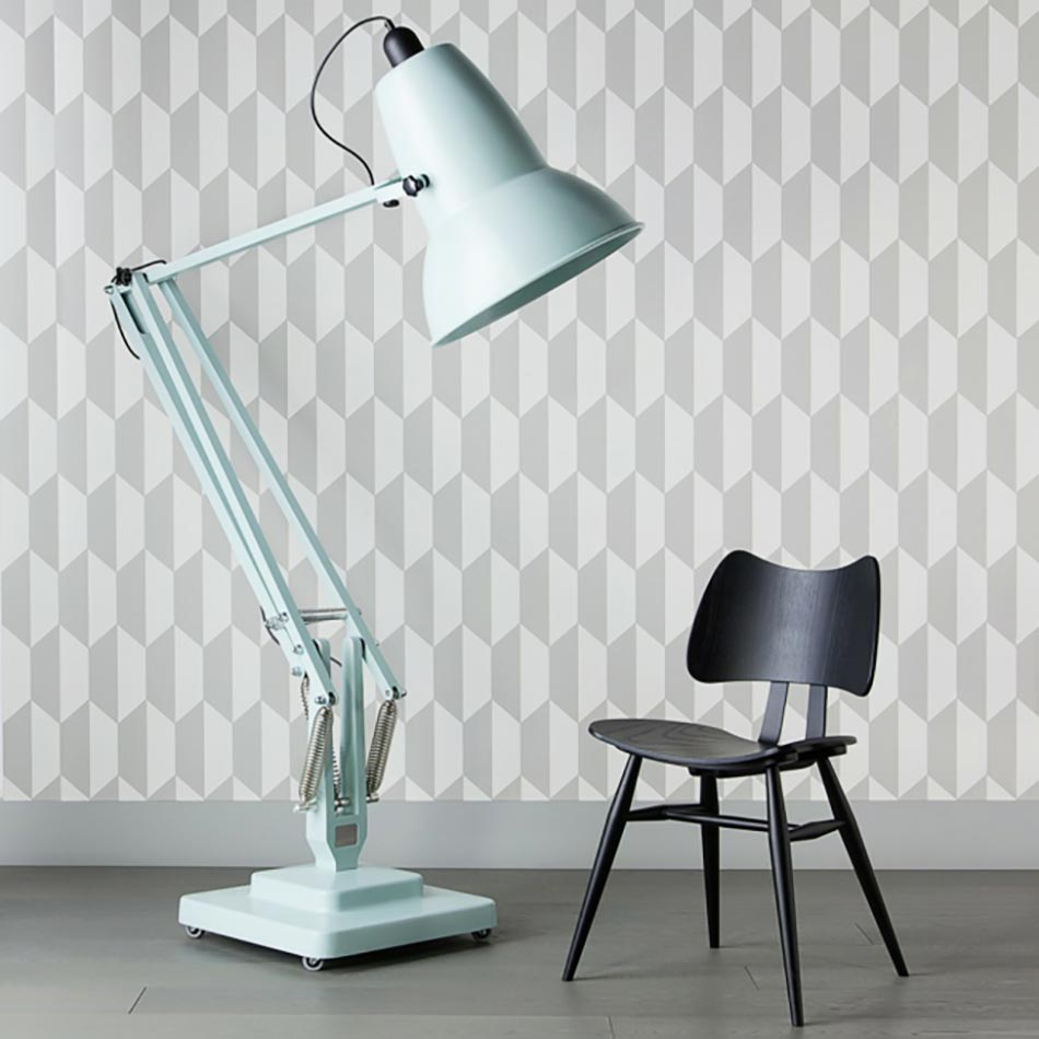 anglepoise lampadaire giant 1227 collection tranquil