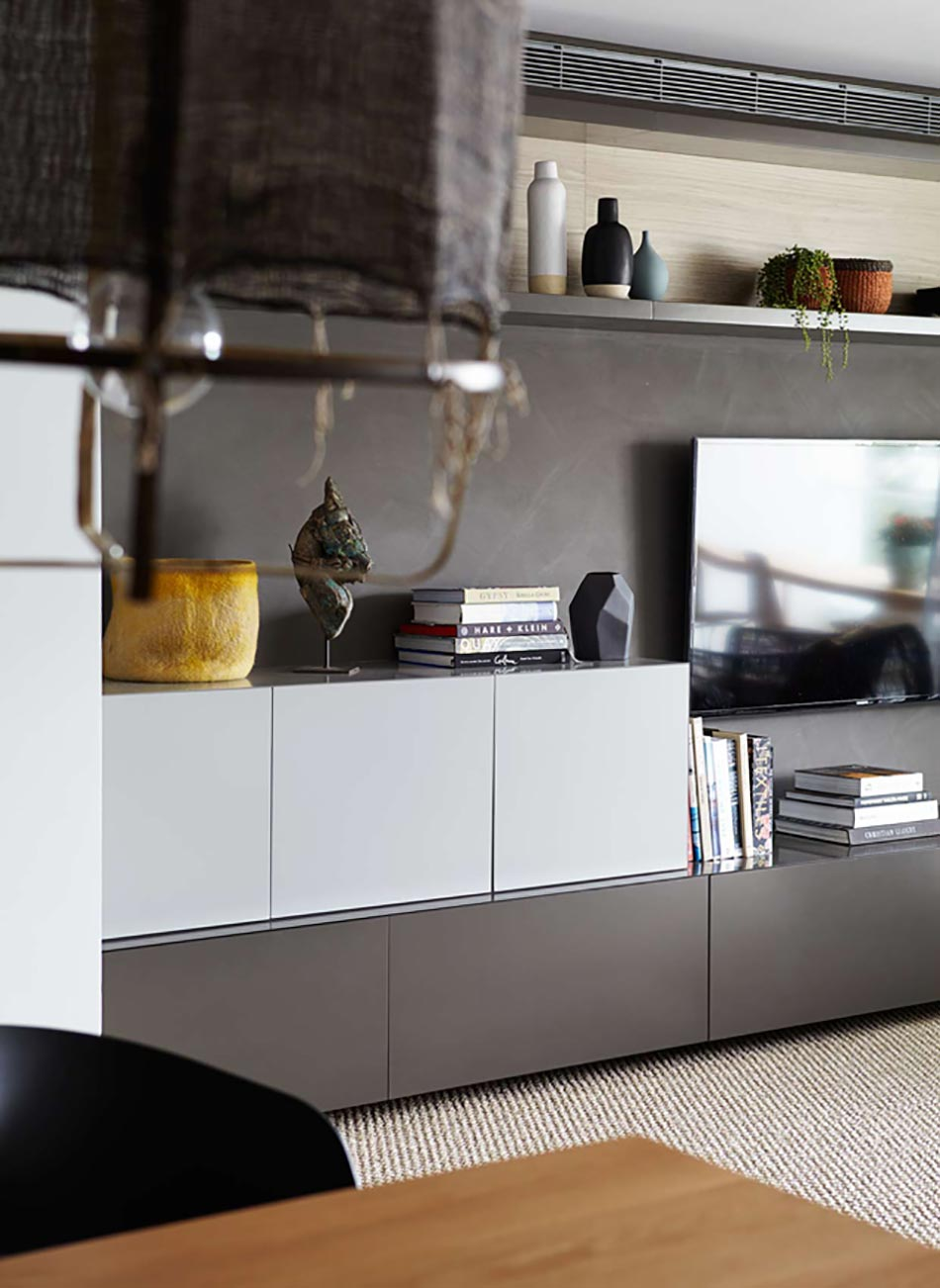 Appartement moderne et chic avec vue imprenable sur l - Couleur appartement moderne ...