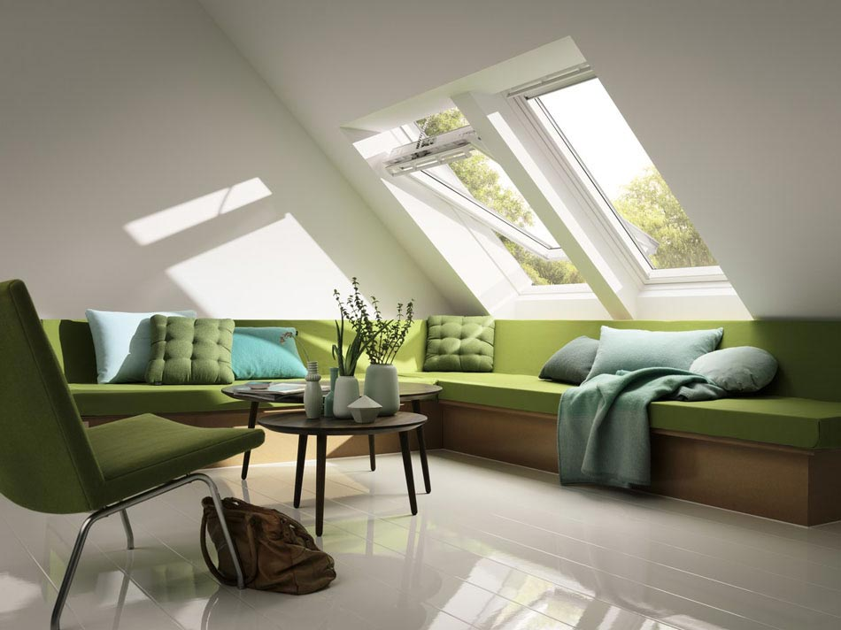 la fen tre de toit de la marque velux cr ateur de lumi re naturelle pour l int rieur de notre. Black Bedroom Furniture Sets. Home Design Ideas