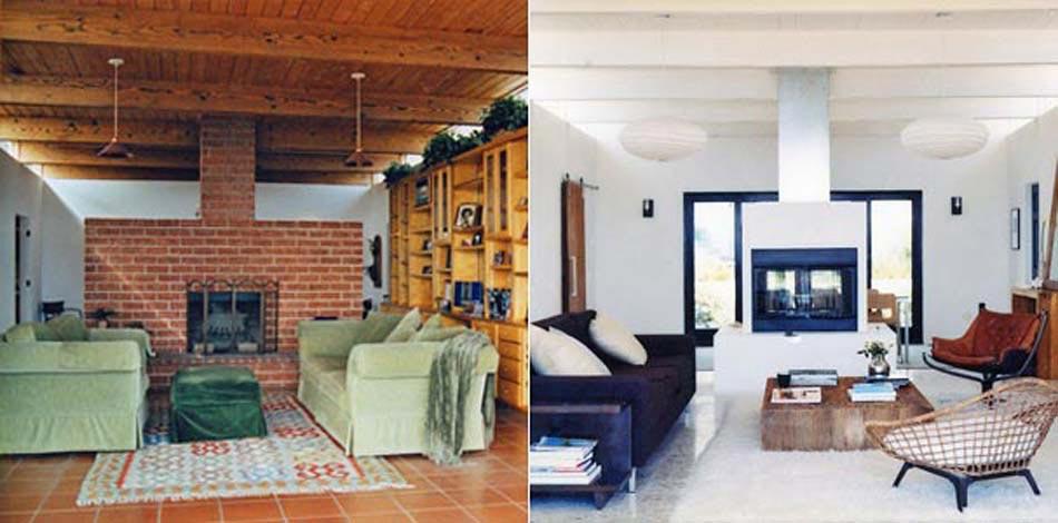 séjour travaux rénovation intérieur maison