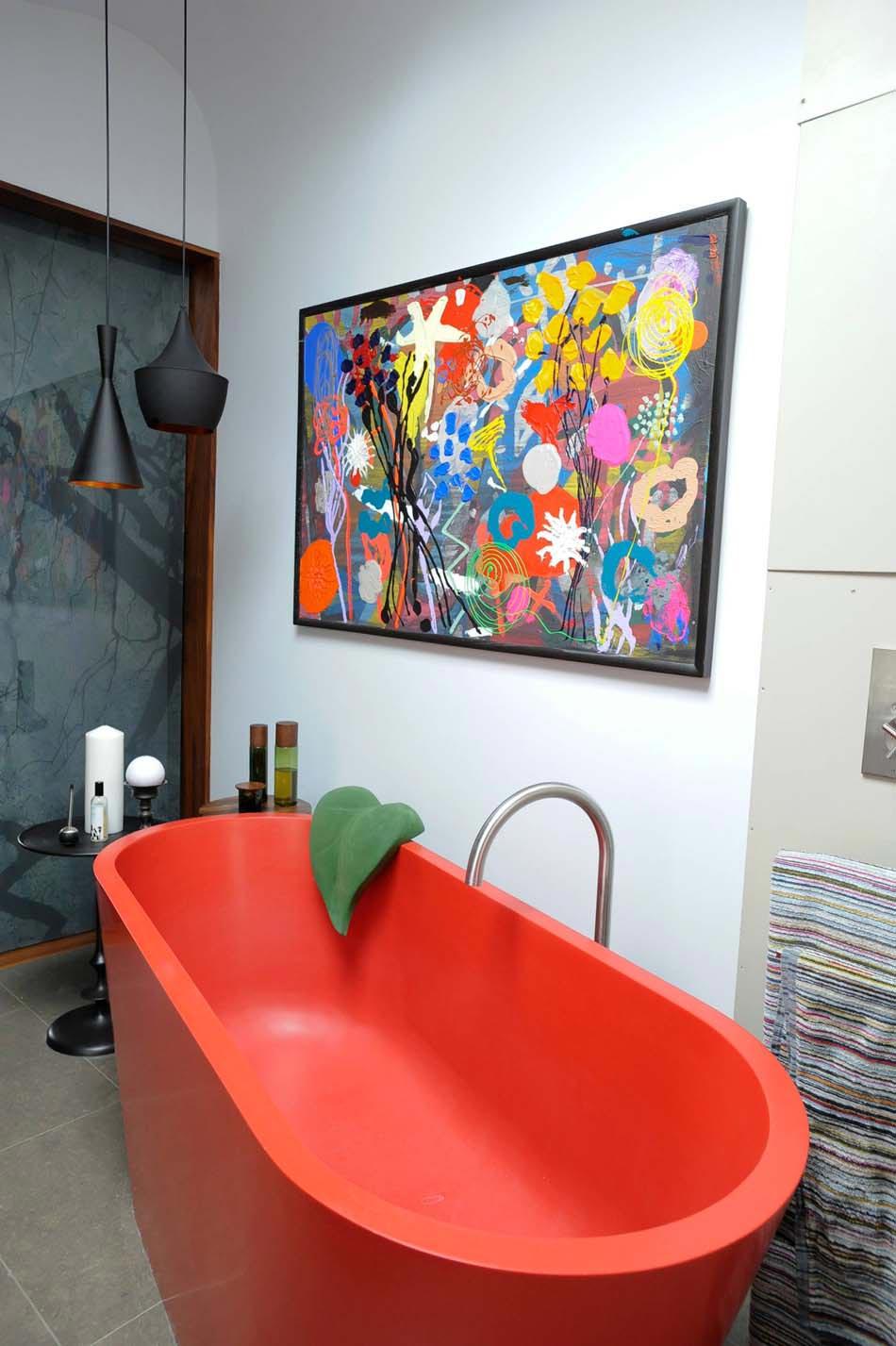 Baignoire de couleur pour relooker et embellir votre salle for Baignoire couleur noire