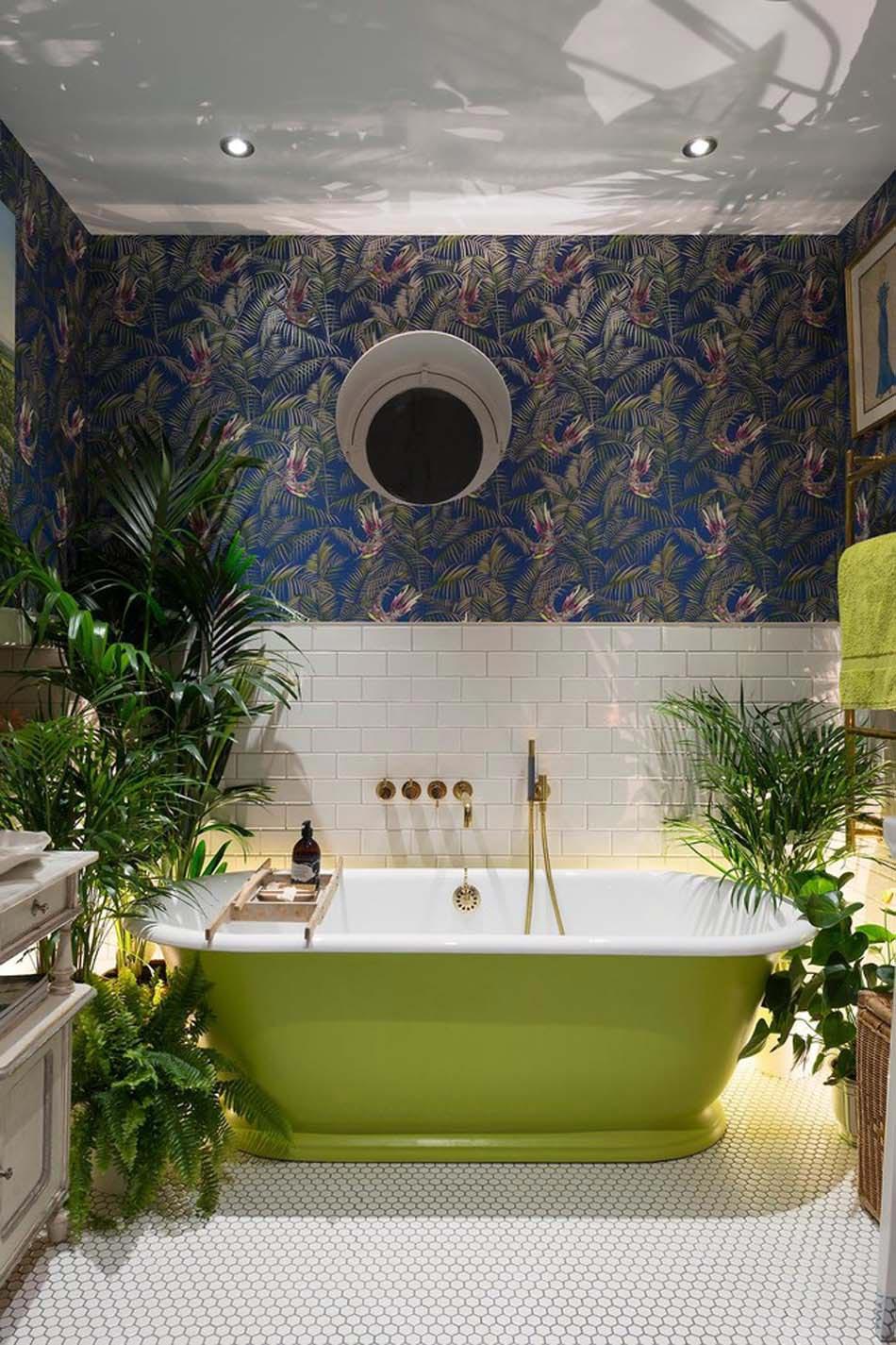 Couleur Vert Salle De Bain baignoire de couleur pour relooker et embellir votre salle