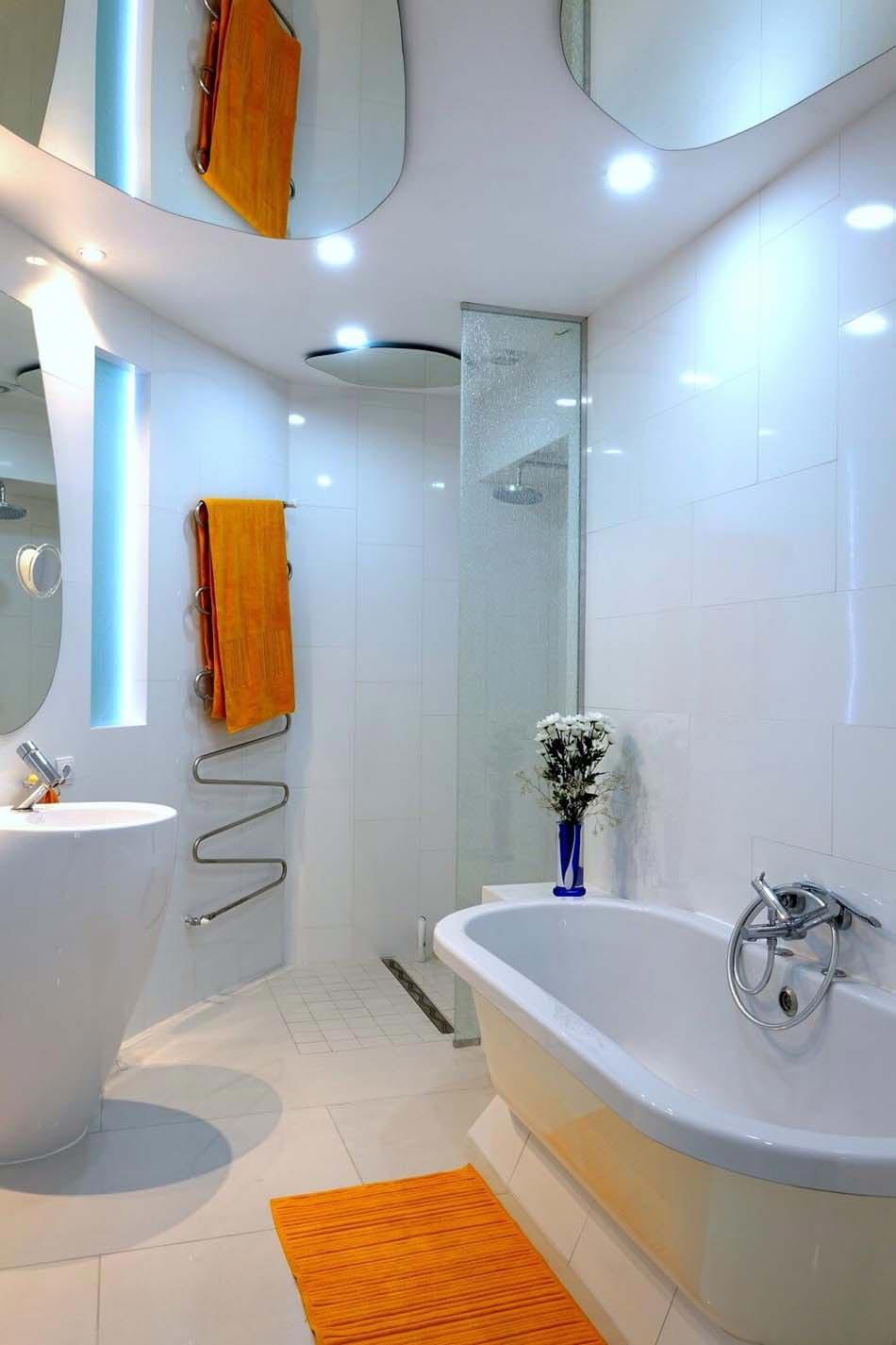 Un design original aux id es cr atives pour ce bel for Douche italienne appartement