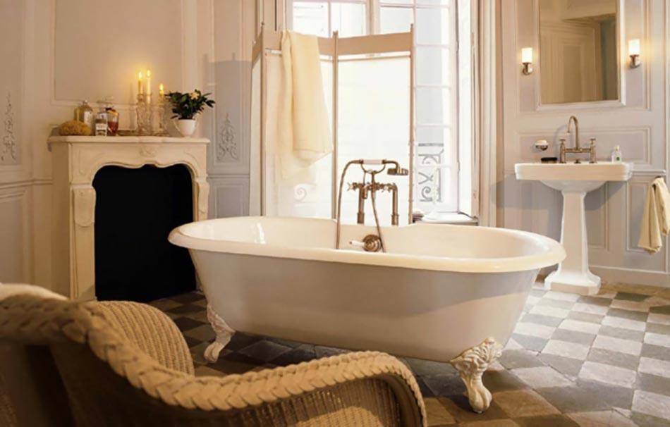 salle de bain baignoire sur pied - Baignoire Sur Pieds