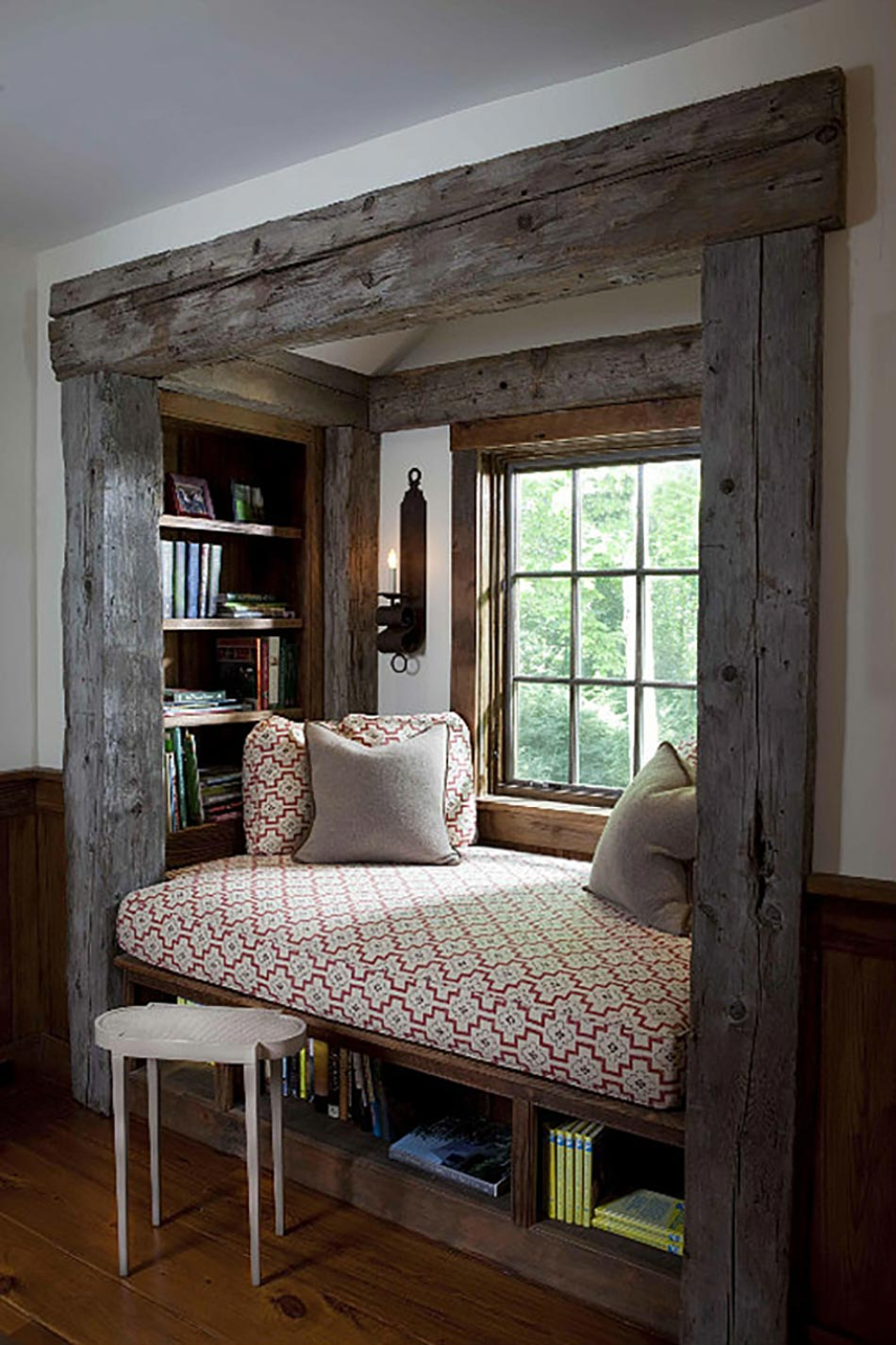 Window seat ou l\'aménagement chambre à l\'ambiance douillette ...