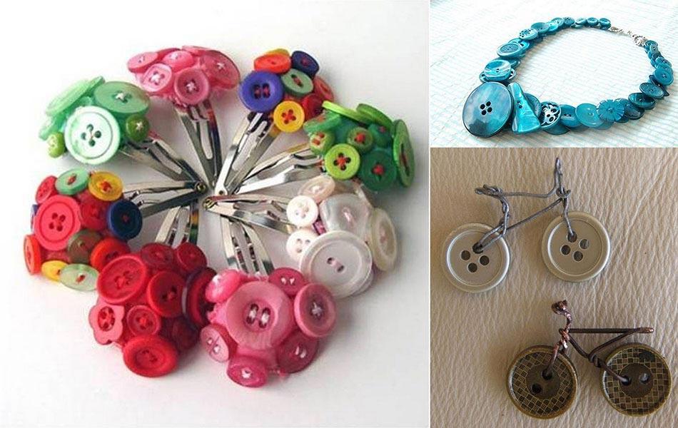 D co originale pour l int rieur de notre maison l aide de boutons color s - Deco avec des boutons ...