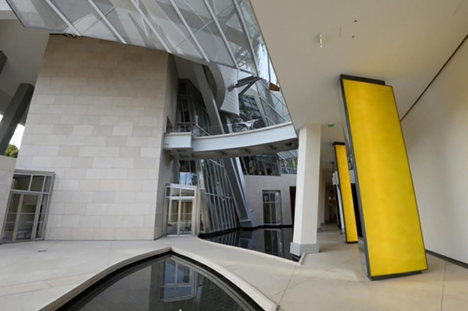 l inauguration du b timent de la fondation louis vuitton design feria. Black Bedroom Furniture Sets. Home Design Ideas