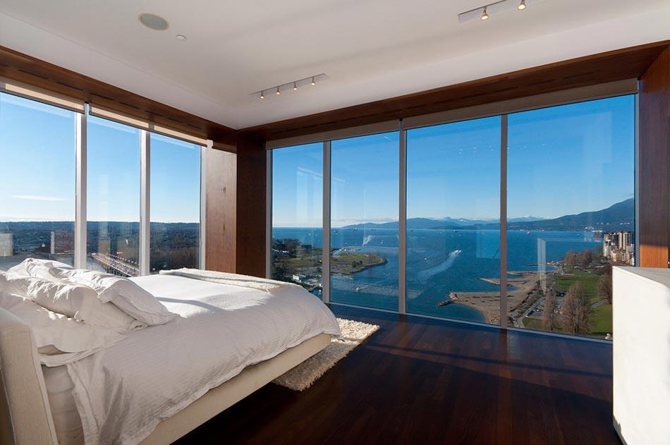 Chambre avec vue pour passer des nuits inoubliables for Interieur de chambre moderne