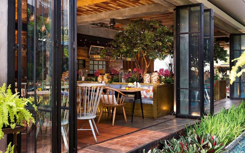 Restaurant design paradisiaque au cœur de l indonésie