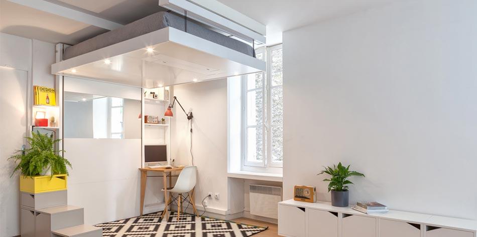 Le Lit Design BedUp Caractère Discret, Couleurs Et Finitions Au Choix