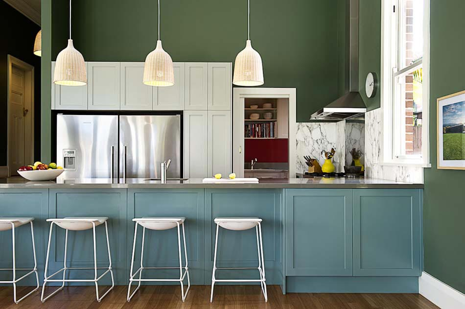 Couleurs agr able pour une cuisine d co moderne et for Cuisine 2 couleurs