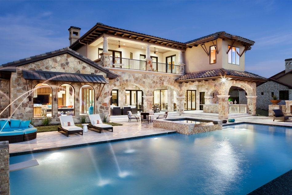 amenagement piscine extrieure une belle piscine au design naturel amenagement terrasse - Amenagement Terrasse Piscine Exterieure