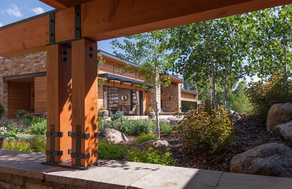 Magnifique maison de campagne au c ur de la nature for Architecture maison de campagne