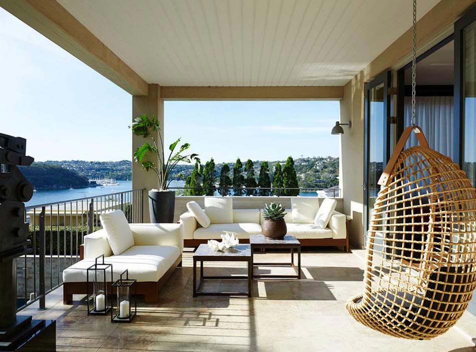 Am nagement terrasse de styles et inspirations diff rents - Idee deco balcon appartement ...