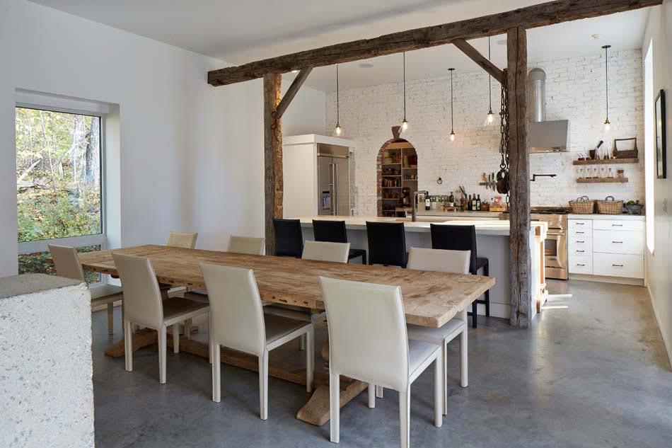 Sol de cuisine un choix pratique et esth tique moderne design feria - Beton cire sol cuisine ...