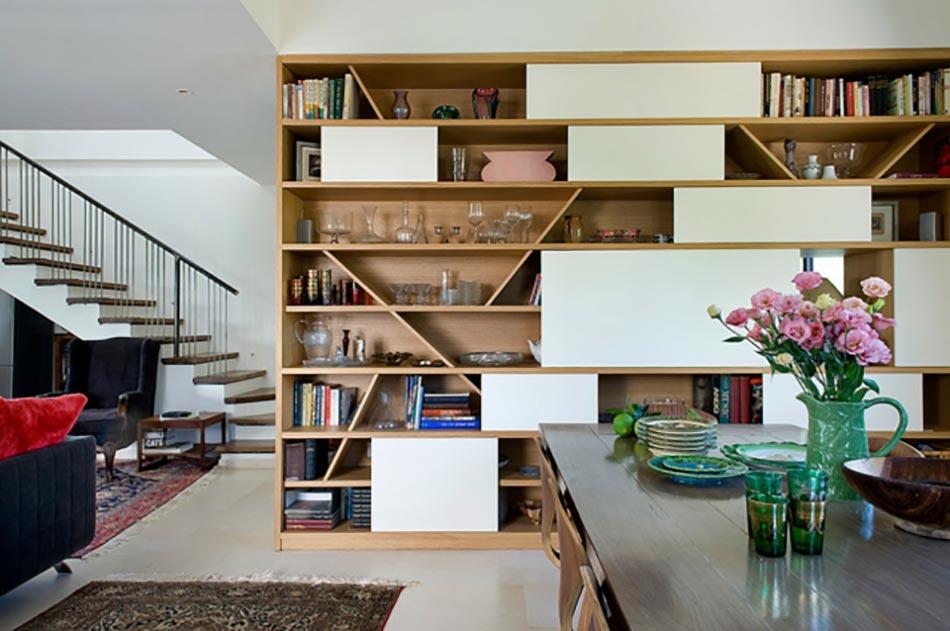 meuble de rangement design pour un séjour aux touches éclectiques ... - Meubles Sejour Design